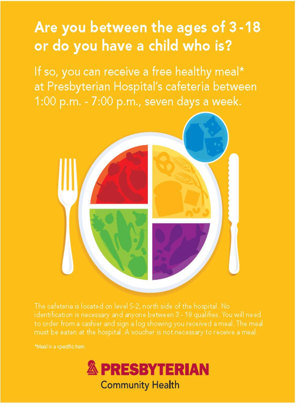 Link to download Free Meal Flyer
